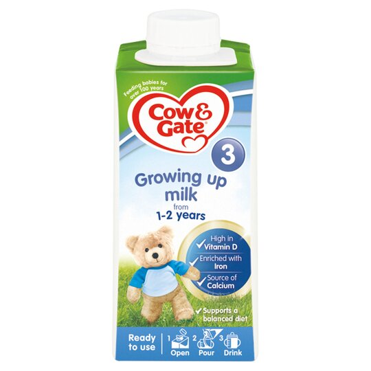 Cow & Gate 1-2 Years Growing Up Milk 1-2Yr 200Ml