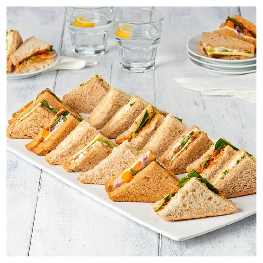 T.Easy Entertain Vegetarian Sandwich Platter 20 Piece