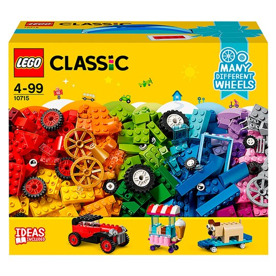 image 1 of LEGO Classic Bricks on a Roll Vehicle Construction Set 10715