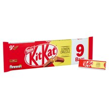 image 2 of Kit Kat 2 Finger Lemon Drizzle Chocolate Biscuits 9X20.7G