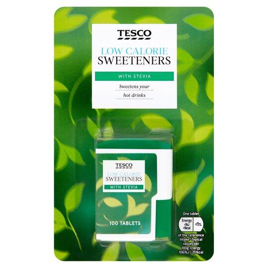 Tesco Stevia Sweetener 100'S