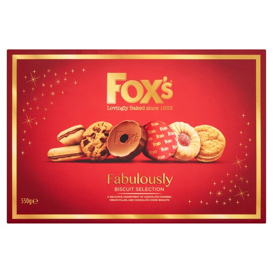 image 1 of Fox's Fabulously Biscuit Selection 550G