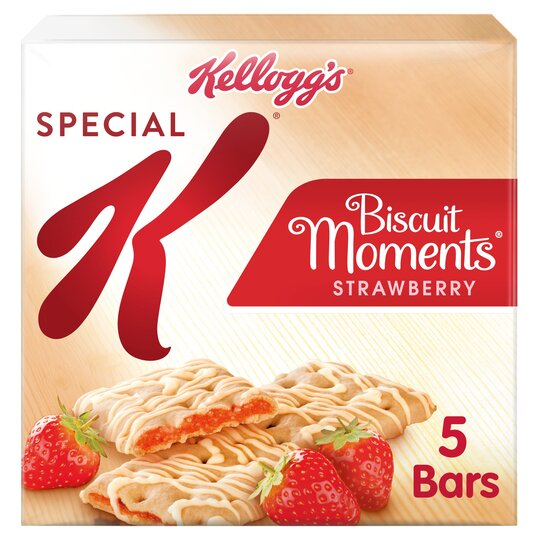 Kellogg's Special K Biscuit Moments Strawberry 125G