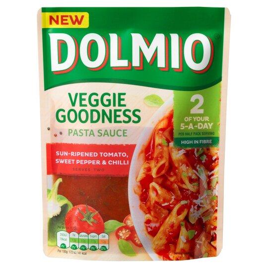 Dolmio Tomato Sweet Pepper & Chilli Pasta Sauce 340G