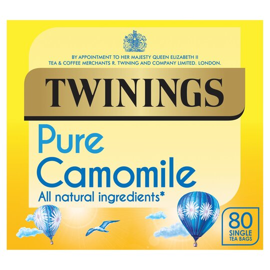 Twinings Pure Camomile 80'S Tea Bags 120G