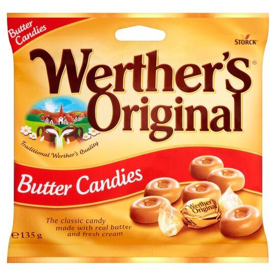 Werthers Original Butter Candies 135G