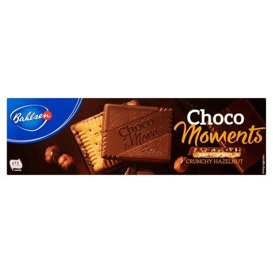 Bahlsen Choco Moments Crunchy Hazelnut Biscuit 120G