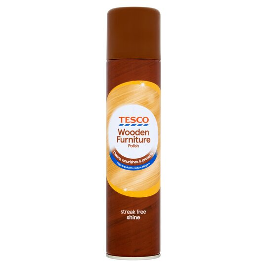 Tesco Wooden Furniture Polish 300ml Tesco Groceries