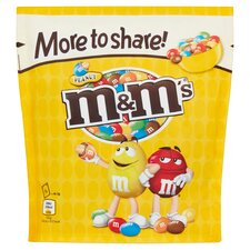 image 1 of M&M Peanut More To Share Pouch 268G