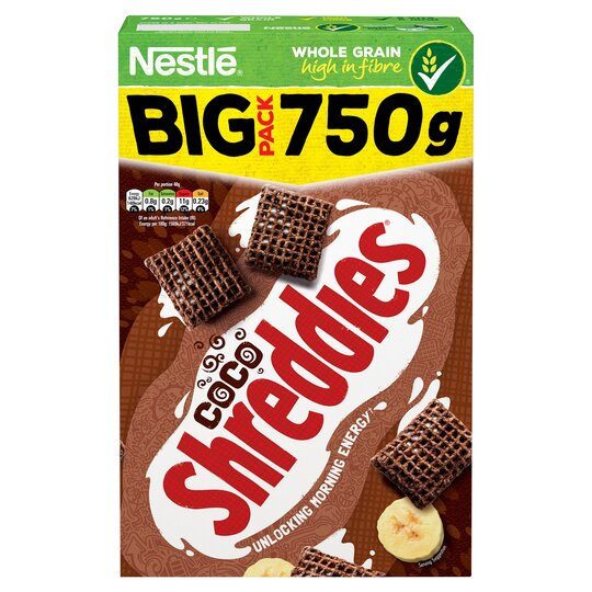 image 1 of Nestle Coco Shreddies Cereal 750G