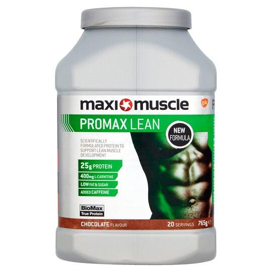 Maximuscle Promax Lean Powder Chocolate 765G