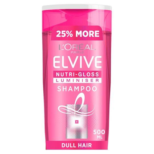 L'oreal Elvive Nutri Gloss Shine Shampoo 500M Luminiser