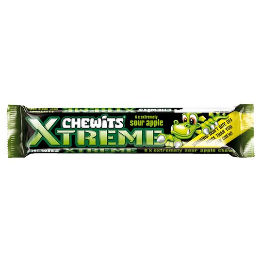Chewits Xtreme Sour Apple Stick 31G