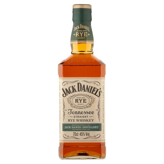 51982e4238e Jack Daniel's Rye Whiskey 70Cl - Tesco Groceries