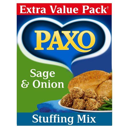 Paxo Sage & Onion Stuffing Mix 340G