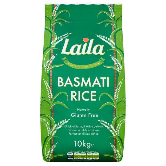 Laila Basmati Rice 10Kg