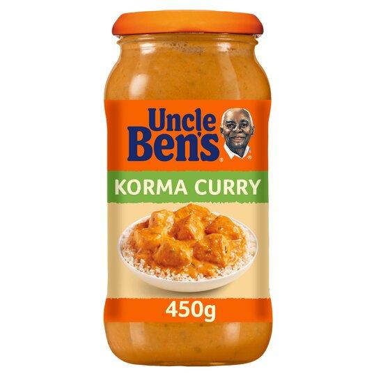Uncle Ben's Korma Sauce 450G