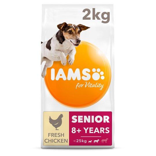 image 1 of Iams Small Medium Senior Dog Food With Chicken 2Kg