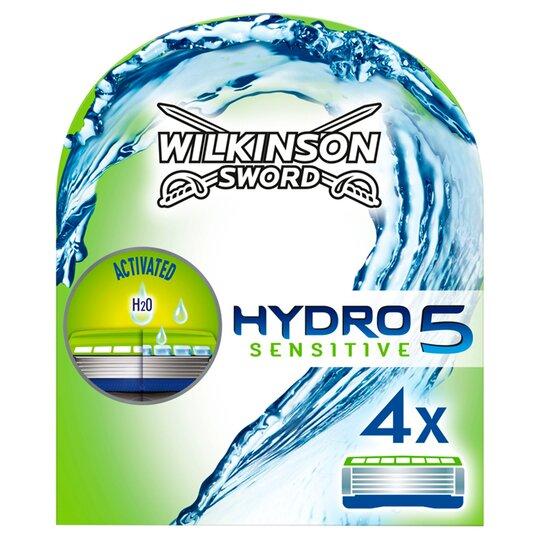 Wilkinson Sword Hydro 5 Sensitive Blades X4