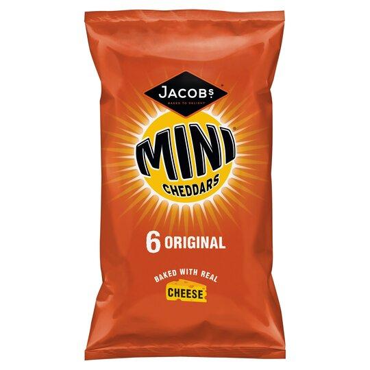 Jacobs Mini Cheddars Original 6X25g