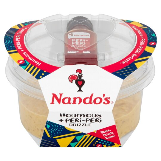 Nando's Houmous With Peri Drizzle 170G