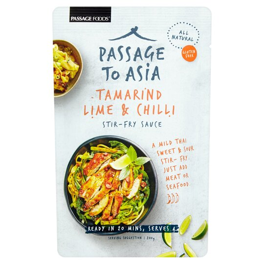 Passage To Asia Tamarind Lime And Chilli Sauce 200G