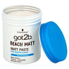 image 2 of Schwarzkopf Got2b Beach Matte Paste 100Ml