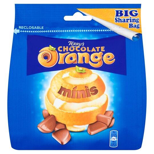 Terry's Chocolate Orange Mini's Sharing Bag 262G