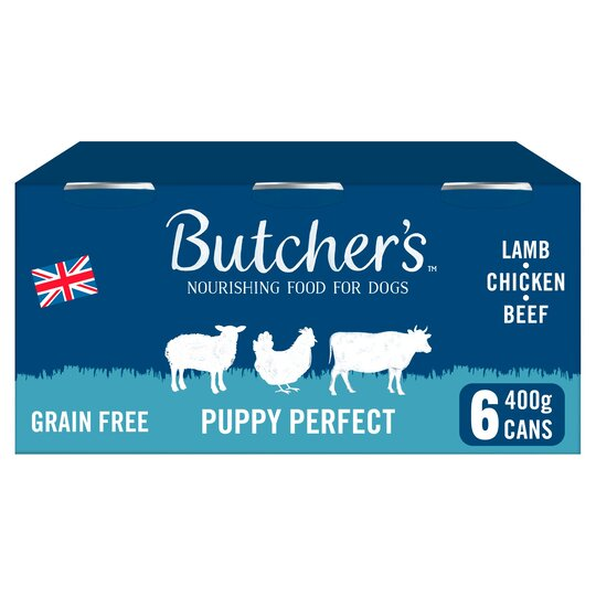 Butcher's Puppy Perfect Puppy Food Tins 6X400g