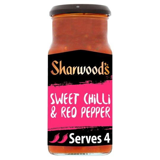 Sharwoods Szechaun Sweet Chilli & Red Pepper Sauce 425G