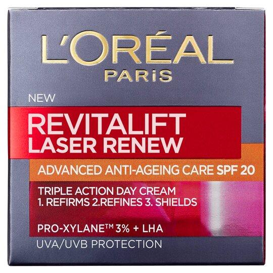 image 1 of L'oreal Paris Revitalift Laser Renew Cream Spf20 50Ml