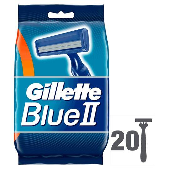 image 1 of Gillette Blue 2 Disposable Razors 20 Pack