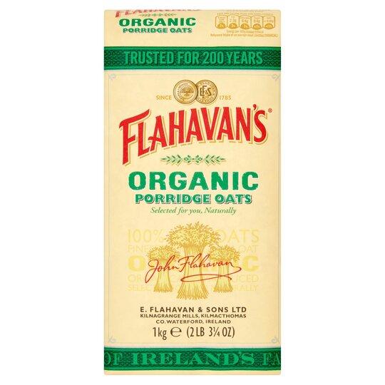 Flahavans Irish Organic Porridge 1Kg