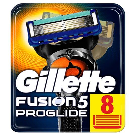 image 1 of Gillette Fusion Proglide Razor Blades Refill 8 Pack