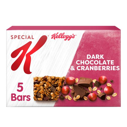 Special K Dark Chocolate & Cranberry Bars 5X27g