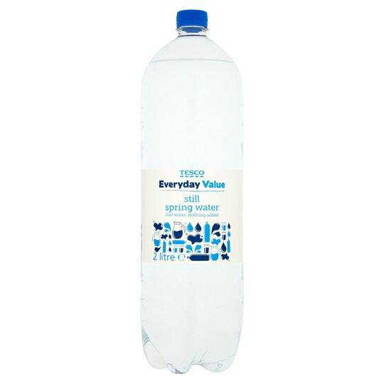 Tesco Everyday Value Still Water 2Ltr