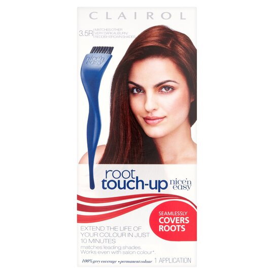 image 1 of Clairol Nice 'N Easy Root Touch Up 3.5R Dark Auburn