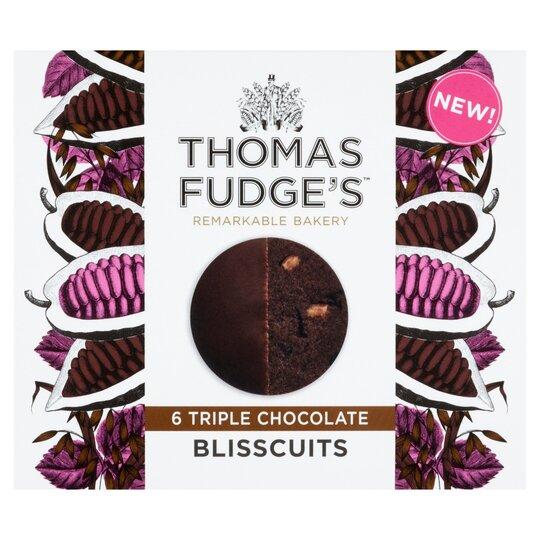 Thomas Fudge's Triple Chocolate Blisscuits
