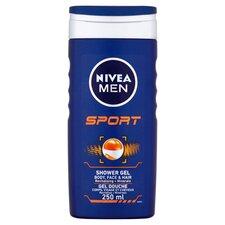 image 1 of Nivea Men Sport Shower Gel 250Ml