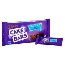 image 2 of Cadbury Milk Chocolate Cake Bars 5 Pack