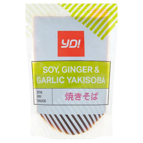 Yo! Yakisoba Soy Ginger & Garlic Stir Fry Sauce 100G