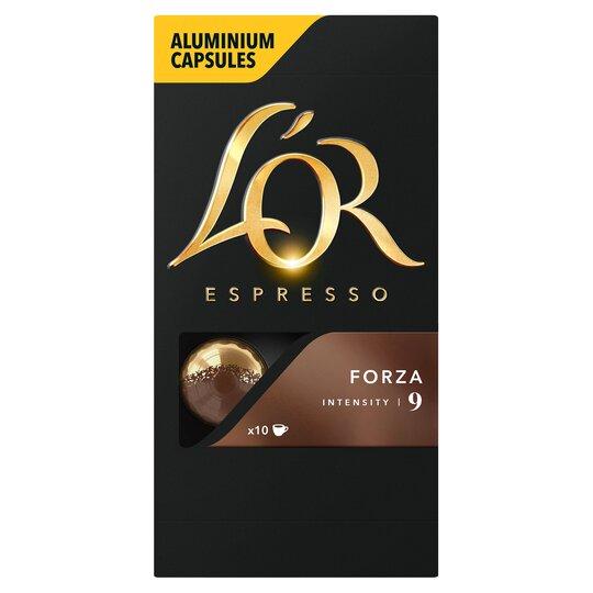 image 1 of L'Or Espresso Forza 10 Capsules 52G