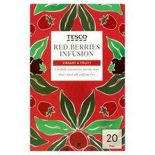 Tesco Red Berries Tea Bags 20'S 60G