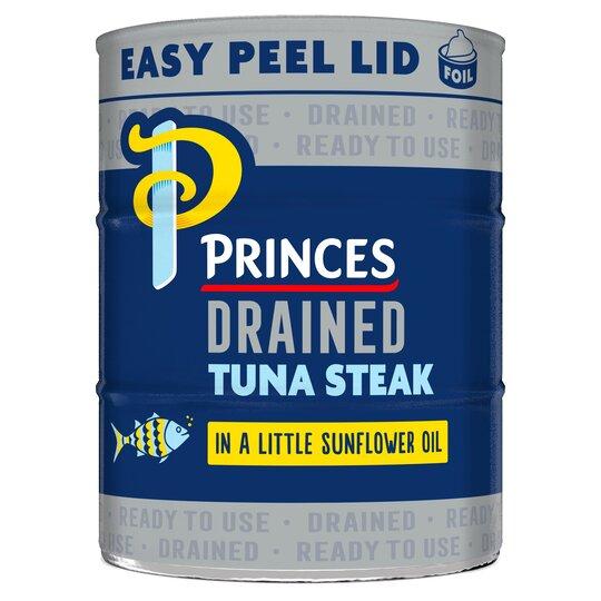 Princes Drained Tuna Steak In Sunflower Oil3x110g