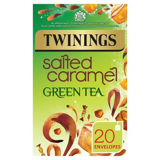 Twinings Green Tea Salted Caramel 20S 40G