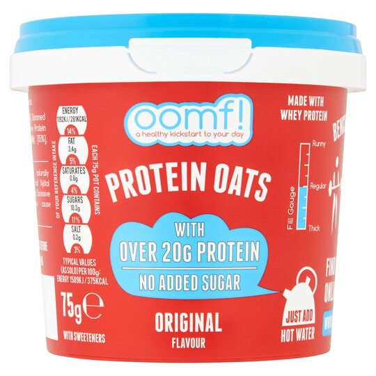 Oomf Original Protein Oats 75G