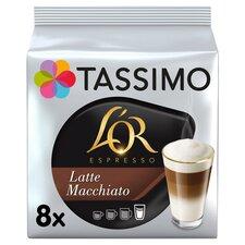 image 1 of Tassimo L' Or. Latte Macchiato 8 Coffee Pods