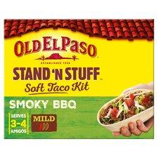 image 1 of Old El Paso Smokey Bbq Stand 'N' Stuff Soft Taco Kit 350G