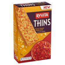 image 2 of Ryvita 3 Cheese Thins 125G