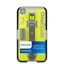 image 1 of PHILIPS-QP2520 OneBlade Styler and Shaver with 3 Stubble Combs